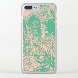 Isabella Stuart Gardener Clear iPhone Case
