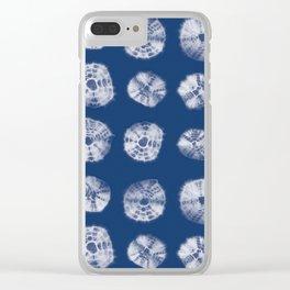 Kumo shibori Clear iPhone Case