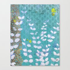Ferns And Blue Skies Canvas Print