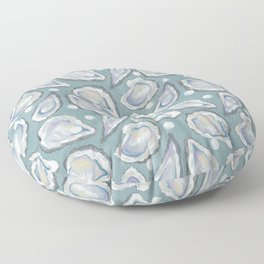 Oysters and Pearls Floor Pillow