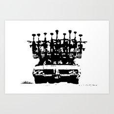 Tread Art Print
