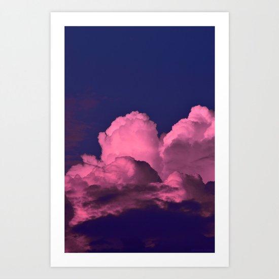 Cloud of Dreams  III Art Print