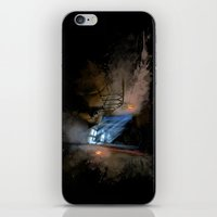 castlevania iPhone & iPod Skins featuring Castlevania: Vampire Variations- Hall by LightningArts