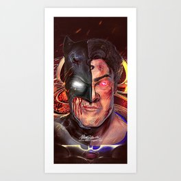 Dawn of Justice Art Print