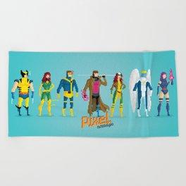 Pixel Mutants Beach Towel
