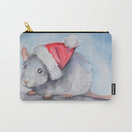 Rat Claus Carry-All Pouch