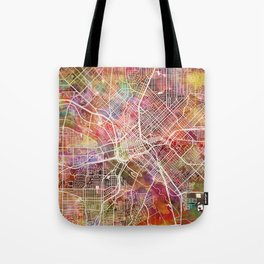 Dallas map 2 Tote Bag