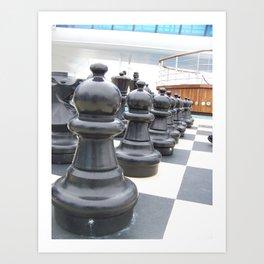 chess peice Art Print
