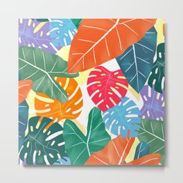 Colorful Tropical Metal Print