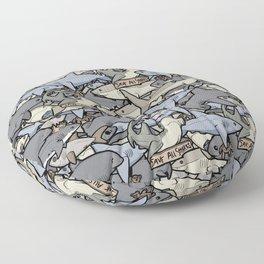 Save ALL Sharks! Floor Pillow