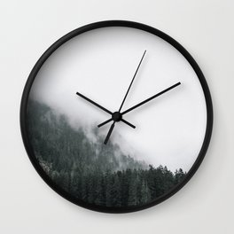 Away From The Crowds, Into The Clouds Wall Clock