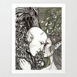 Dread Wolf's lover Art Print