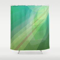5 seconds of summer Shower Curtains featuring #5 by Xinnie and RAE