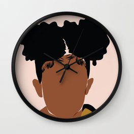 Two Puffs Wall Clock