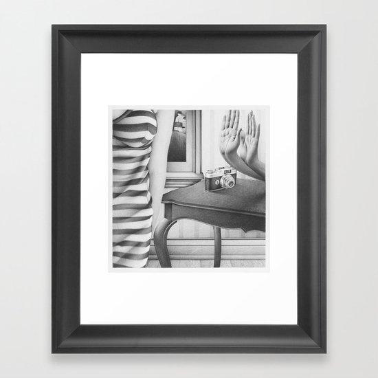 if only for that Framed Art Print