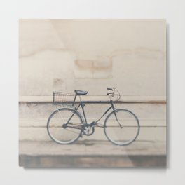 a very masculine bicycle Metal Print