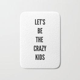 crazy kids Bath Mat