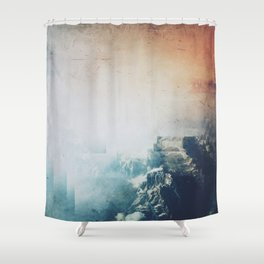 Fractions A29 Shower Curtain