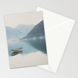 boat reflections ... Stationery Cards