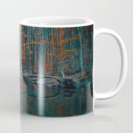 Romanian forest in autumn Coffee Mug