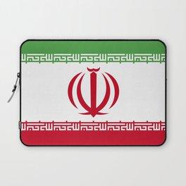 Iran flag emblem Laptop Sleeve