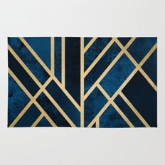 Art Deco Midnight Rug
