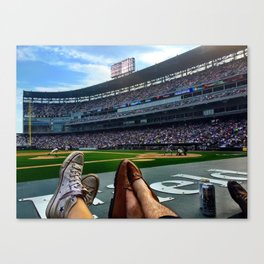 Crosstown Classic at US Cellular Canvas Print