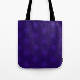 Snowflake I Purple Tote Bag