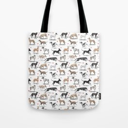 The Greyhound Tote Bag