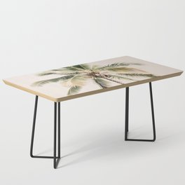 Tropical Palm Tree Coffee Table