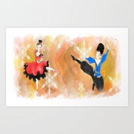 The nutcracker collection Art Print