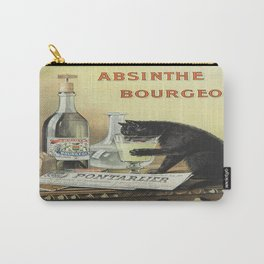 Vintage poster - Absinthe Bourgeois Carry-All Pouch