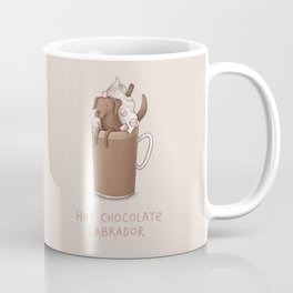 Hot Chocolate Labrador Coffee Mug