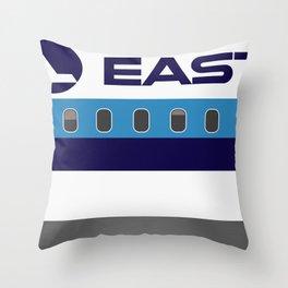 Plane Tees - Eastern Air Lines (White Top) Throw Pillow