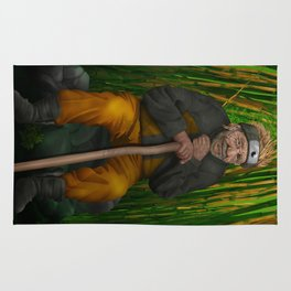 Old Ninja iPhone 4 5 6 7 case, pillow case, mugs and tshirt Rug