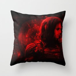 The Winter Soldier (Bucky Barnes) Hydra Print Throw Pillow