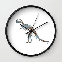 Tyrannosaurus Rex Skeleton Wall Clock