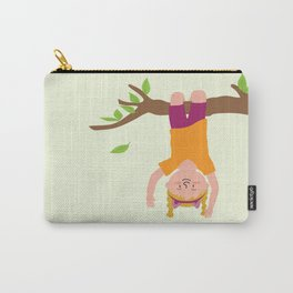 Positively Girly - tree Carry-All Pouch