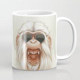 The Great White Angry Monkey Coffee Mug