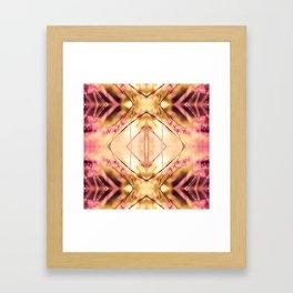 PINK SPANGLES no9-R1 Framed Art Print