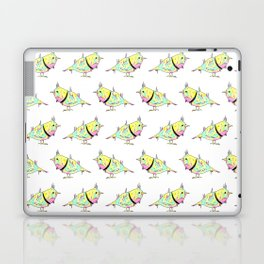 Neon Bird Laptop & iPad Skin