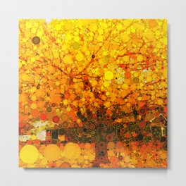 :: It Was All Yellow :: Metal Print