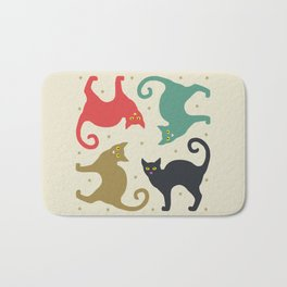 Cats and Cream Bath Mat