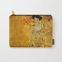 Gustav Klimt Portrait of Adel Bloch Bauer Carry-All Pouch