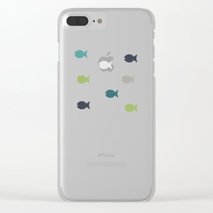 Under The Sea Clear iPhone Case
