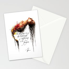 Labyrinth of Suffering Stationery Cards