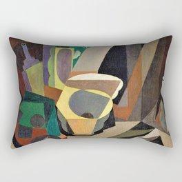 Still Life With Utensils - Diego Rivera Rectangular Pillow