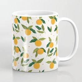 Gouache Oranges Coffee Mug