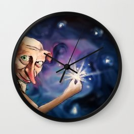 A Free Elf Wall Clock