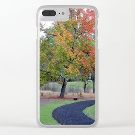 Battlefield History Trail Clear iPhone Case